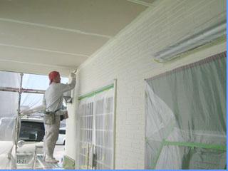 リフォーム外装・外壁塗装の様子1